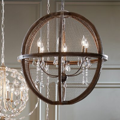 Rosemont 6-Light Candle-Style Chandelier