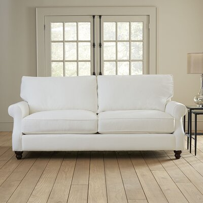 Huxley Sofa Upholstery: Spinnsol Natural