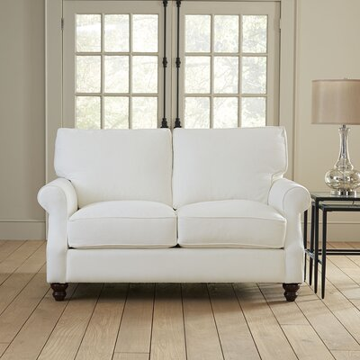 Huxley Loveseat Upholstery: Spinnsol Natural
