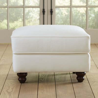 Huxley Ottoman Upholstery: Spinnsol Natural