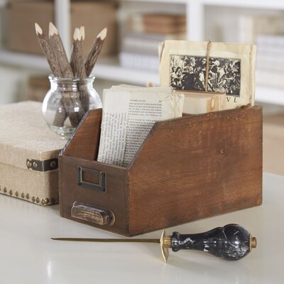 Birch Lane Card Catalog Keepsake Box