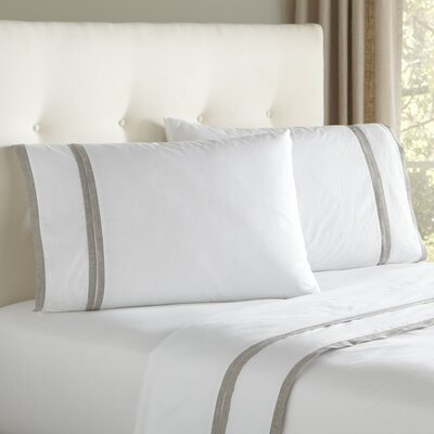 Iona Sheet Set Size: Queen, Color: Gray
