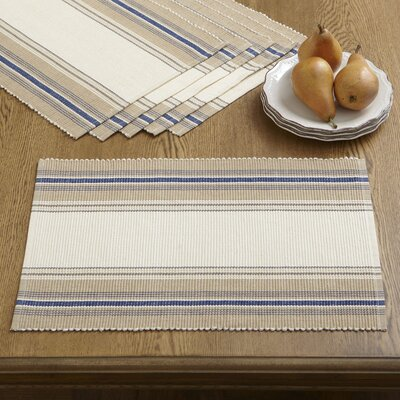 Birch Lane Cece Striped Placemats (Set of 6)