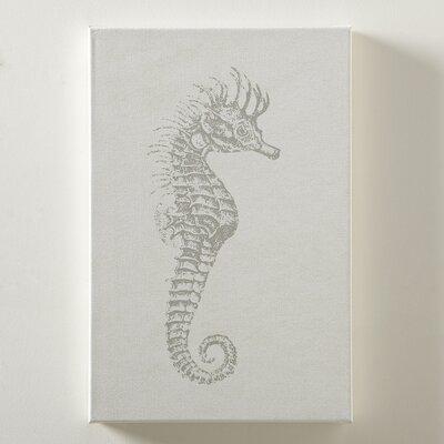 Seahorse Sea Life Canvas