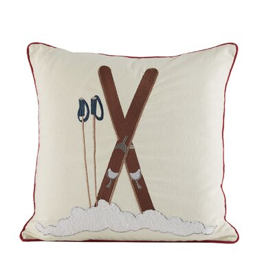 Ski Time Pillow Cover