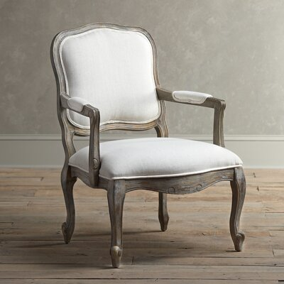 Stratton Arm Chair Fabric: Stone