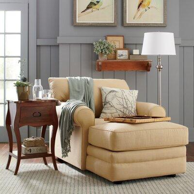Newton Chaise Upholstery: Donovan Saffron