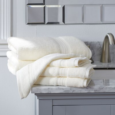 Nelle 6-Piece Towel Set Color: Ivory
