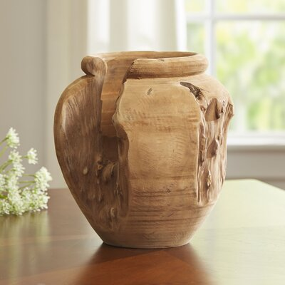 Biscayne Teak Vase
