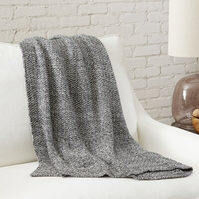 Philippa Throw Color: Charcoal