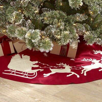 Night Before Christmas Tree Skirt
