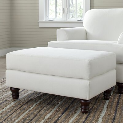 Marsden Ottoman Upholstery: Nadia Denim