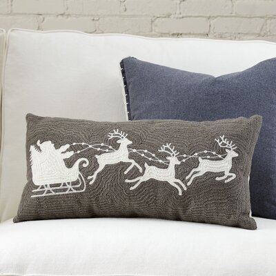 Reindeer Pillow Cover