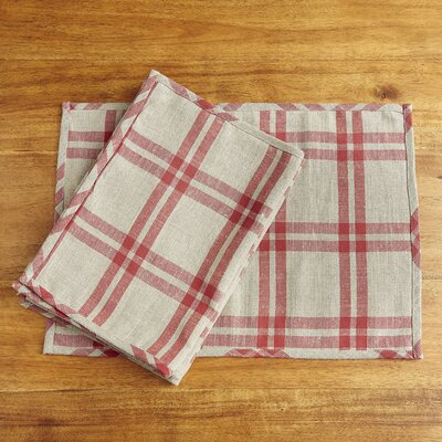Micah Plaid Placemats