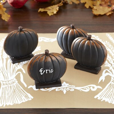 Pumpkin Mini Chalkboards (Set of Four)