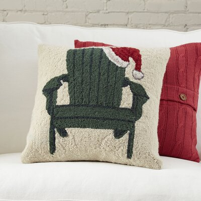 Birch Lane Christmas Adirondack Hooked Pillow