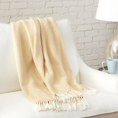 Hollis Throw Color: Wheat