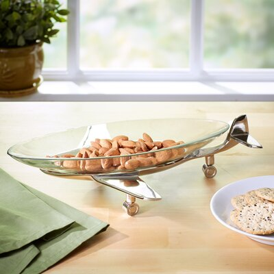 Aviation Glass Serving Tray