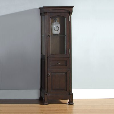 Stockbridge Vanity Accent Cabinet Finish: Burnished Mahogany