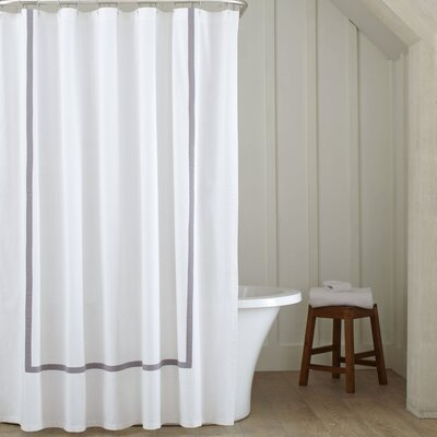Badgley Shower Curtain Color: Grey