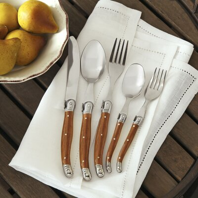 Alsace 20-Piece Laguiole Flatware Set