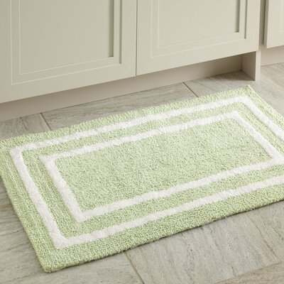 Corey Bath Mat Color: Green