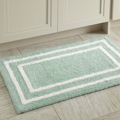 Corey Bath Mat Color: Aqua