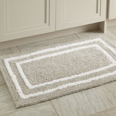 Corey Bath Mat Color: Gray