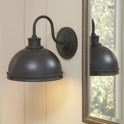 Fleetwood 1-Light Armed Sconce