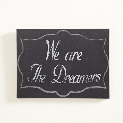 Dreamers Graphic Art