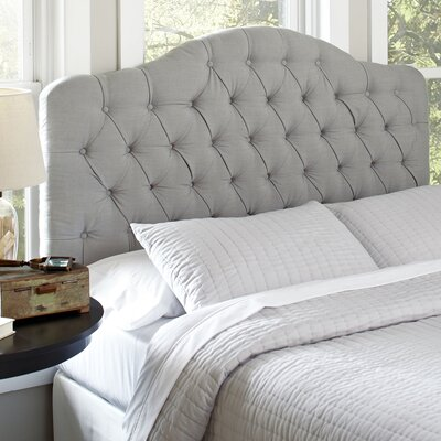 Blanchard Upholstered Headboard Size: Full / Queen, Upholstery: Putty