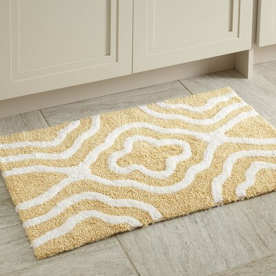 Maureen Bath Mat Color: Yellow