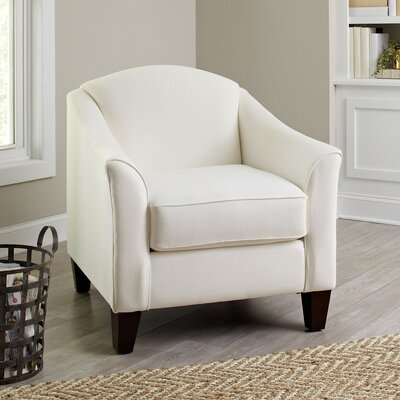 Snyder Club Chair Upholstery: Tibby Linen