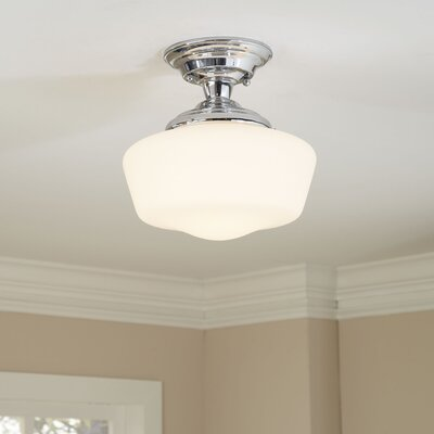 Sudbury Semi Flush Mount Finish: Chrome