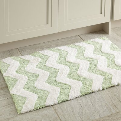 Dierdre Bath Mat Color: Green
