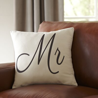 Mr. Pillow Cover