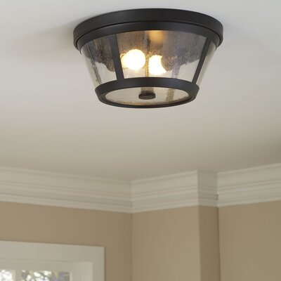 Wellesley Flush Mount Finish: Oil Rubbed Bronze