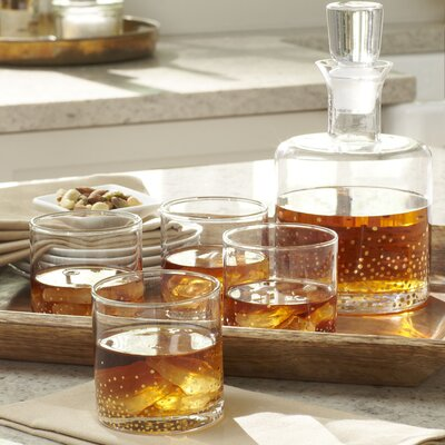 Medina 5-Piece Square Decanter Set