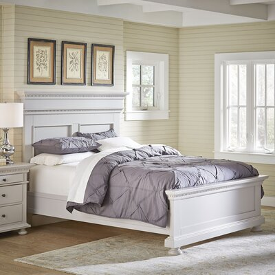 Dobson Panel Bed Size: Queen, Color: Fog