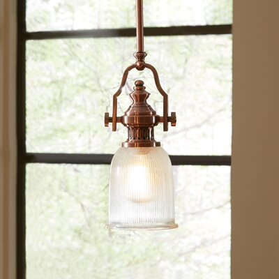 Winslow Mini Pendant Finish: Antiqued Copper