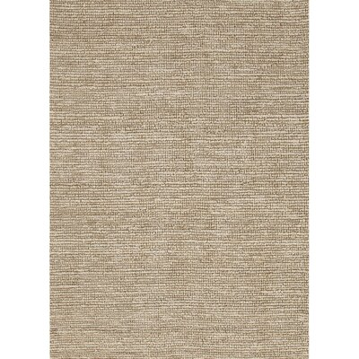 Hadley Hand Woven Natural/Turtledove Area Rug Rug Size: Rectangle 2 x 3