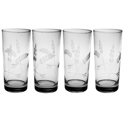 4 Piece Lancaster Highball Glass Set
