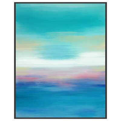 Ocean Views Framed Canvas Giclee Print