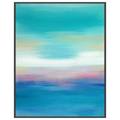 Ocean Views Framed Canvas Giclee Print