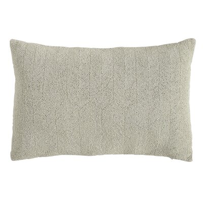Alma 100% Pillow Cover Color: Light Gray