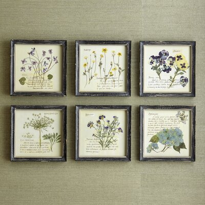 Pressed Flowers Wall Art