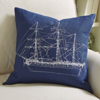 Schooner Pillow Cover