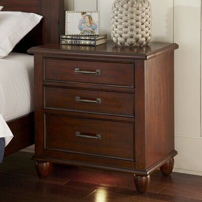 Reeves Nightstand Finish: Cherry