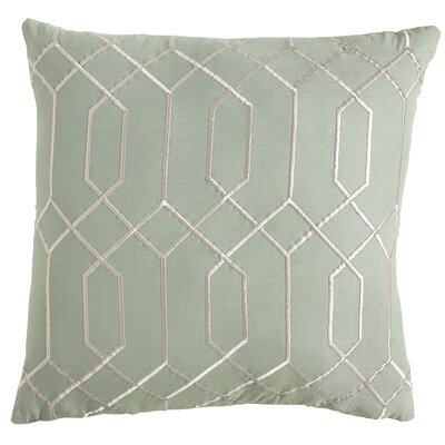 Janice Linen Pillow Cover Size: 20 H x 20 W x 1 D, Color: Teal