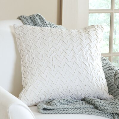 Lane Pillow Cover Size: 20 H x 20 W x 1 D, Color: Ivory
